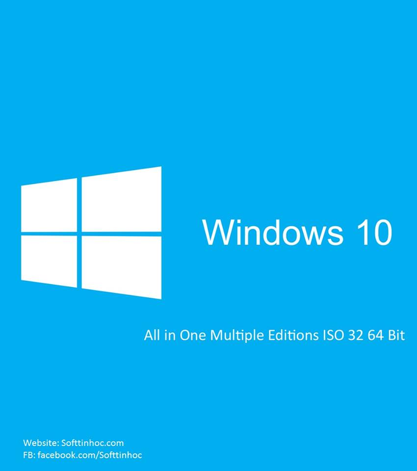 Windows 10 AIO (8 in 1) ISO